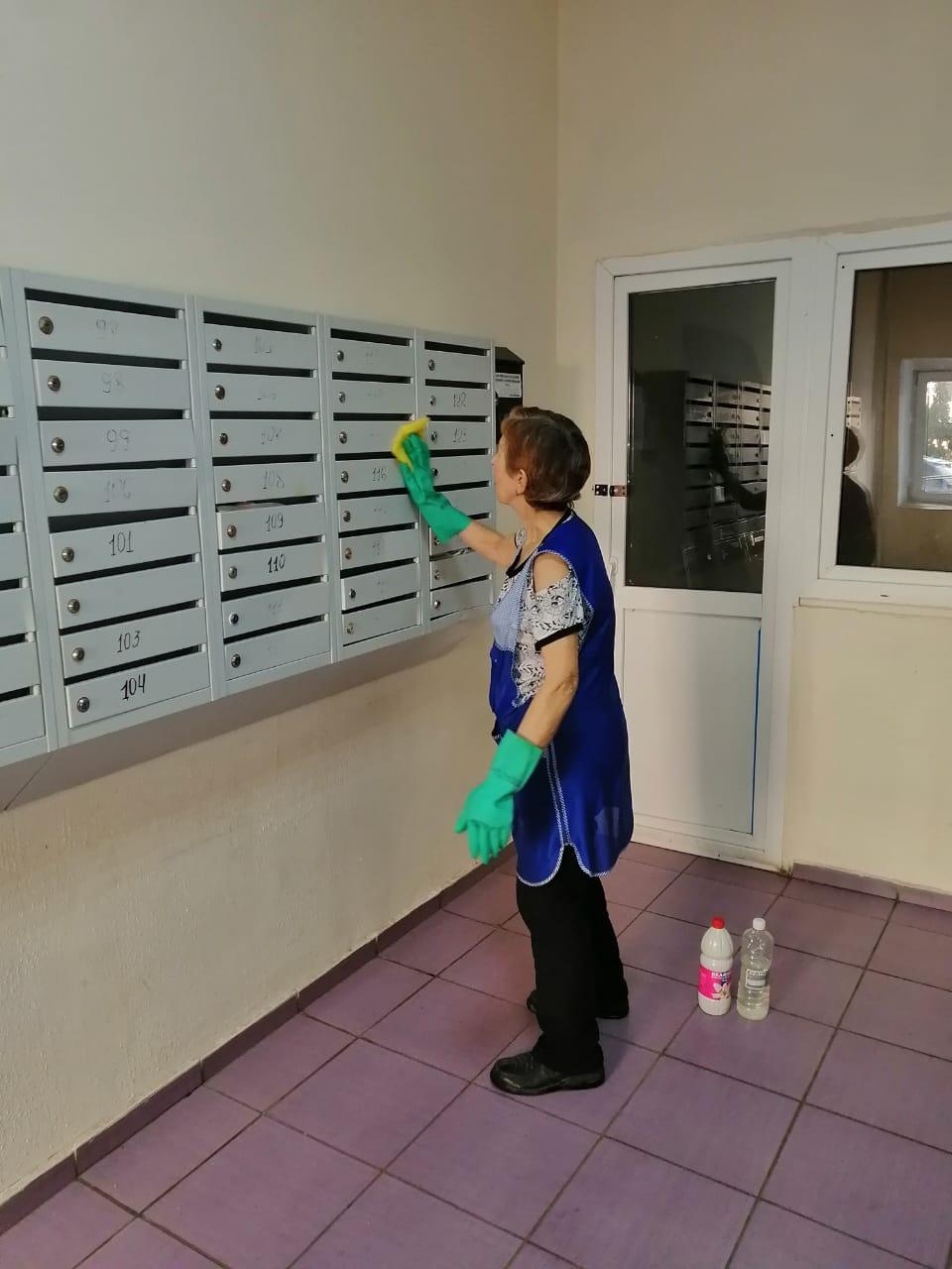 Read more about the article Проведена дезинфекция в доме № 7