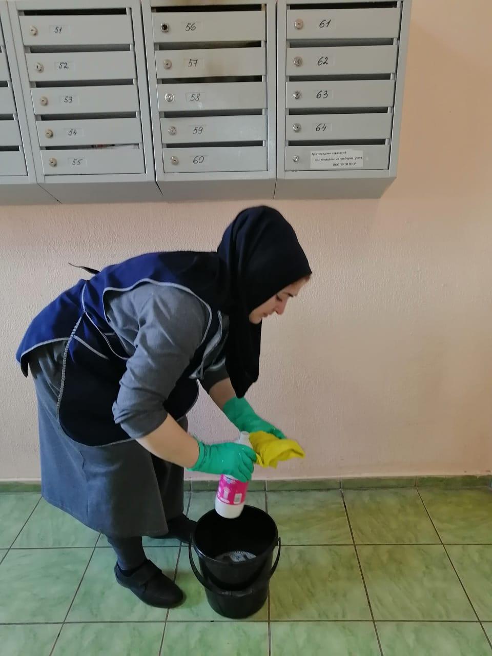 Read more about the article Проведена дезинфекция в доме №8